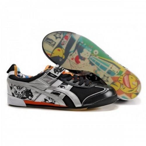 Pour Acheter AC3092 Soldes Asics Femmes To1607kidoki Mex Lo chaussures noires Argent Orange 12118814 Pas Cher