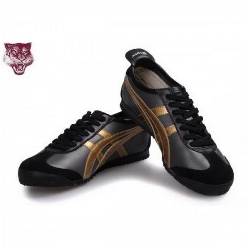 Pour Acheter SD2819 Soldes Asics Onitsu1309ka Tiger Kanuchi or noir Chaussures 57885243 Pas Cher