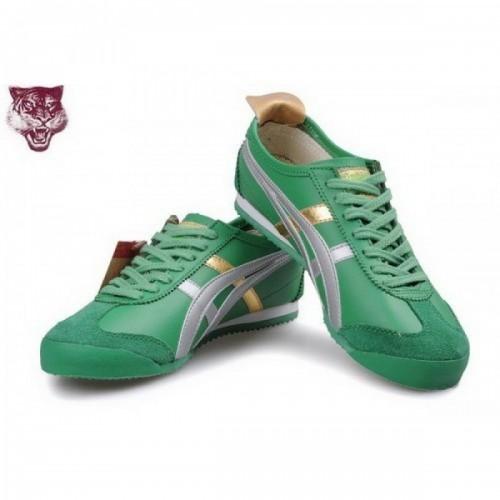 Pour Acheter AA9760 Sold1988es Asics Tiger Kanuchi Chaussures Vert Or Argent 91854704 Pas Cher