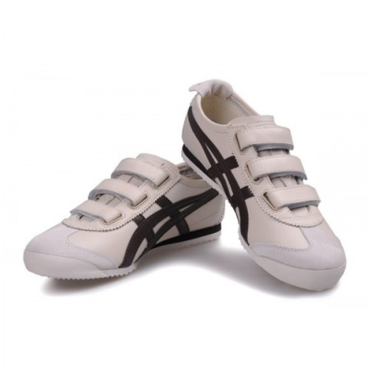 PV0949 Soldes Asics Onitsuka Tiger Mexico 66 Baja Chaussures Chocolat Beige 68011139 Pas Cher