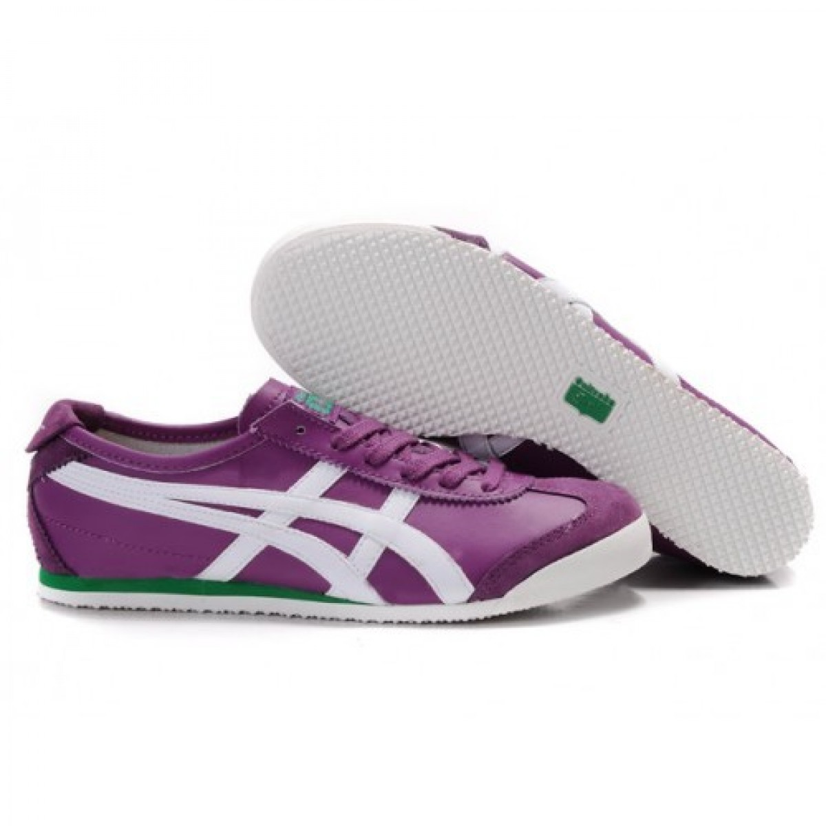 EN6751 Soldes Asics Onitsuka Tiger Mexico 66 Chaussures Violet Blanc 20373255 Pas Cher