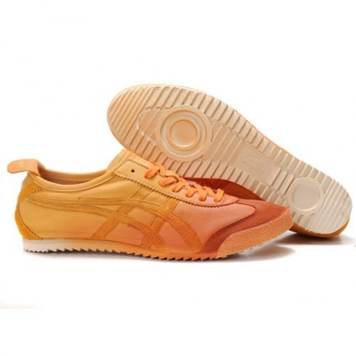 TL5821 Soldes Asics Onitsuka Tiger Mexico 66 Deluxe orange 69213564 Pas Cher