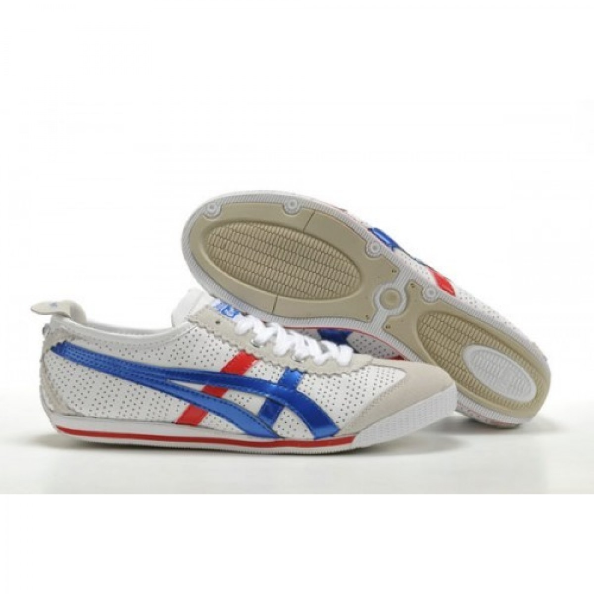 TC2139 Soldes Asics Onitsuka Tiger Mini Cooper Chaussures Bleu Rouge Beige 43362527 Pas Cher