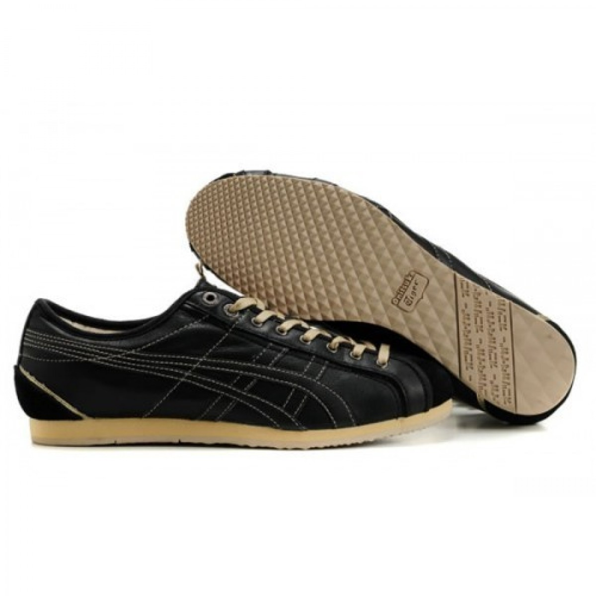DB5957 Soldes Asics Onitsuka Tiger Olympos Chaussures Beige Noir 49246090 Pas Cher