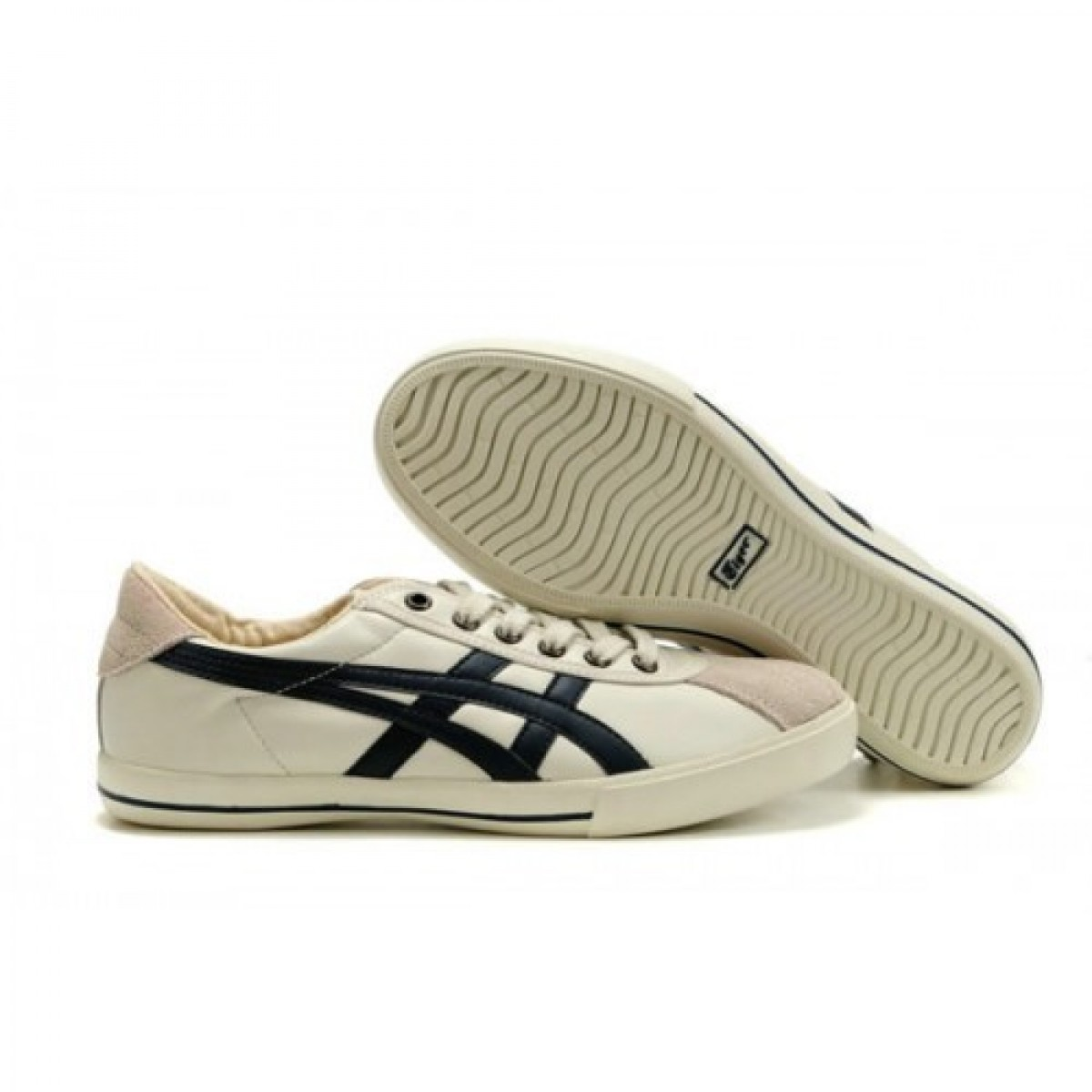 NW6876 Soldes Asics Onitsuka Tiger Rotation 77 Chaussures Noir Blanc 24755773 Pas Cher