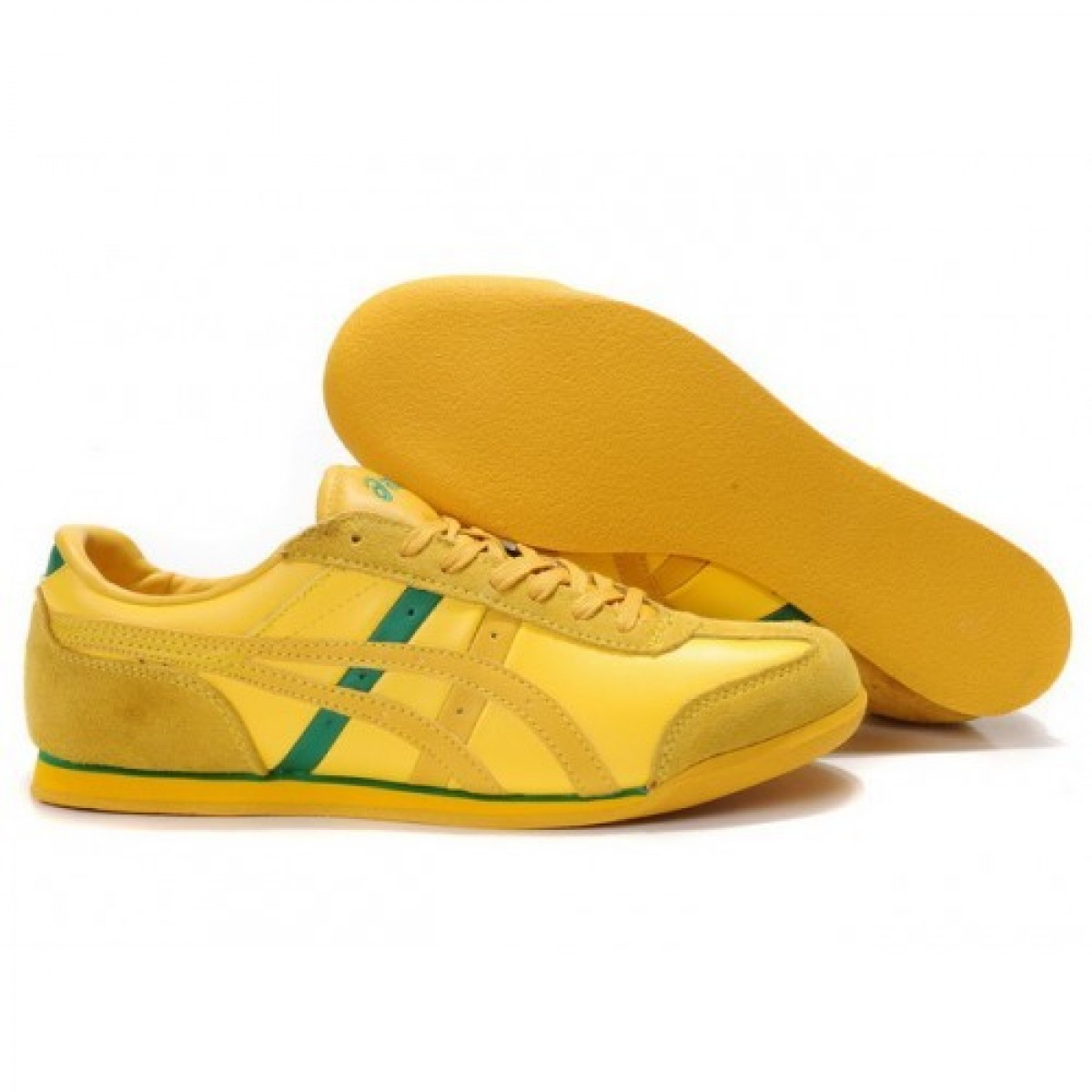 SL7256 Soldes Asics Revolve Le Chaussures Yello verts 68105698 Pas Cher