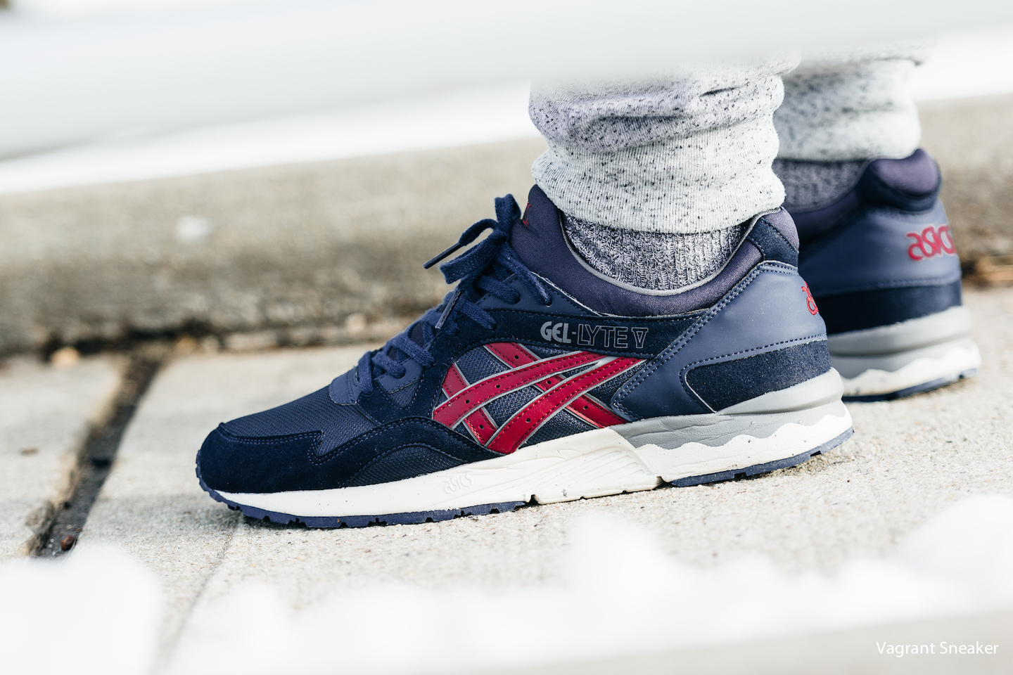 chaussures asics homme gel lyte 5